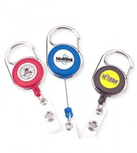 karabiner retractable reel
